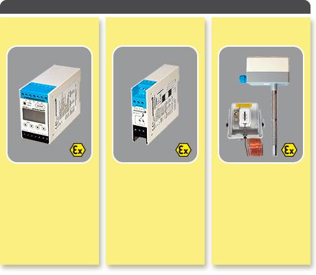 Transmitter, Ex-switching module, passive sensors