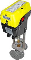 ExRun mounted on valve