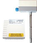 Passive, analog sensors for hazardous locations
