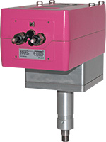 LIN – linear valve unit with adapted quarter-turn actuator RedMax size M with spring return for use in zone 2, 22