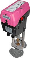 RedRun mounted on valve